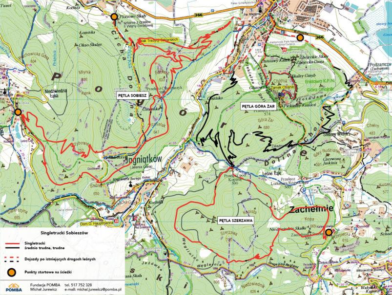 Trasy Jelenia Góra_Sobieszów